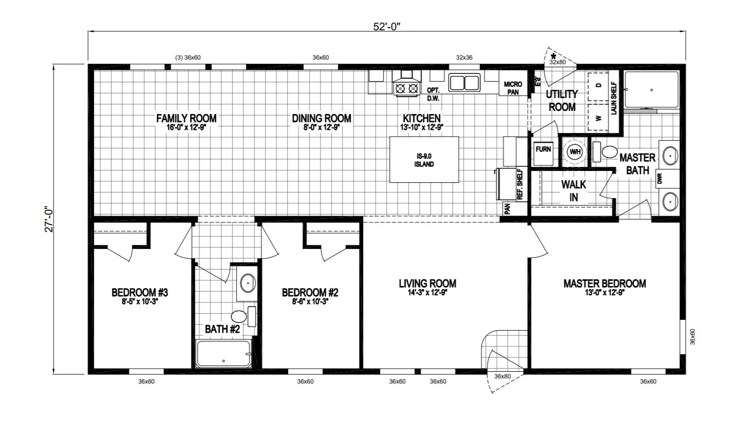 Indpendence Modular Home Floor Plan