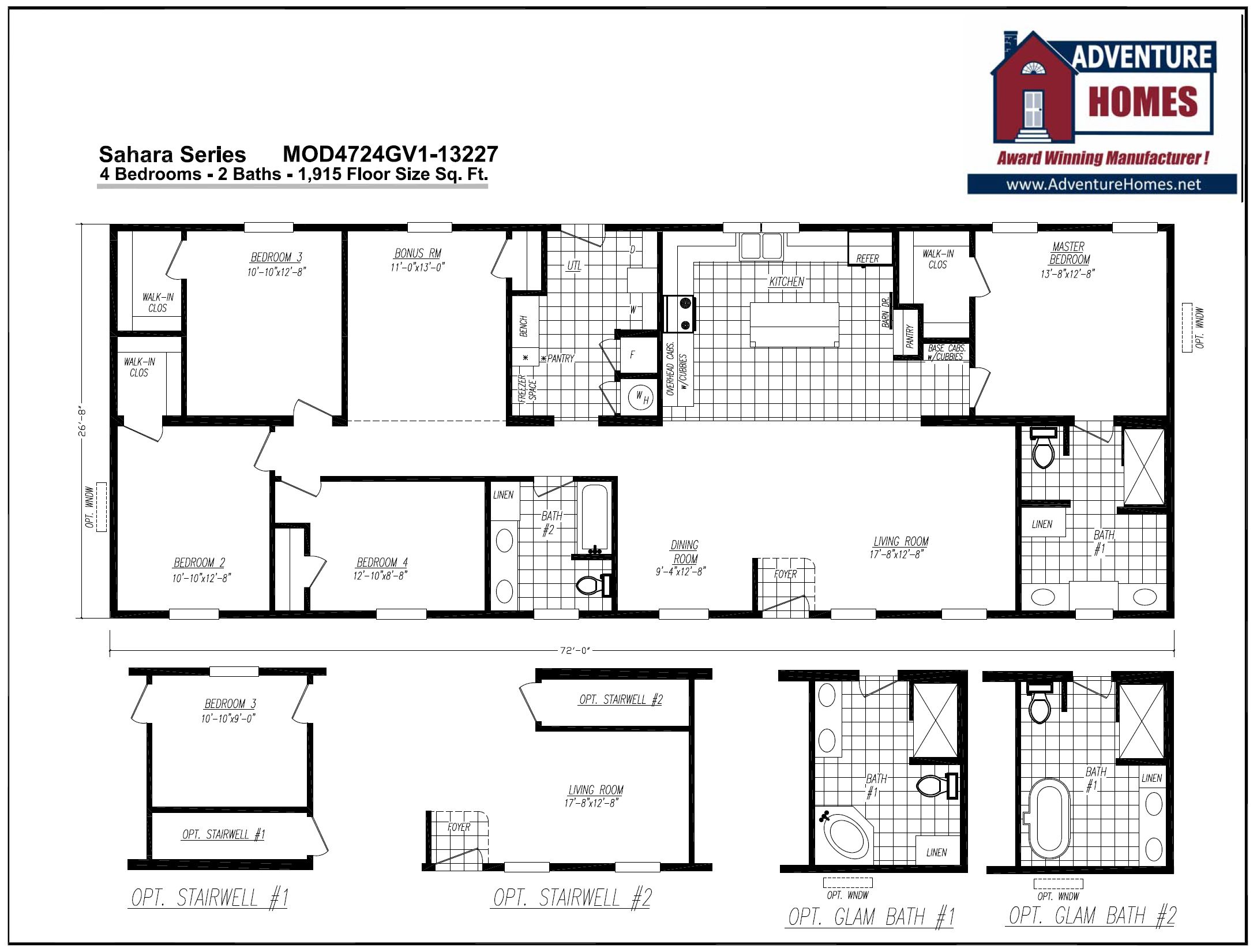 farmhouse breeze modular home floorplan